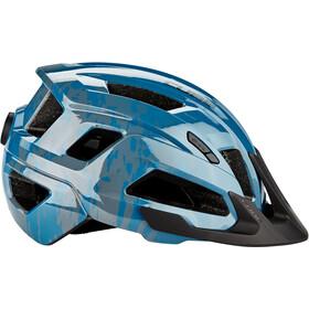 Cube Steep Helmet glossy blue
